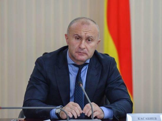 Врио вице-премьера Северной Осетии Касабиев ушел в отставку
