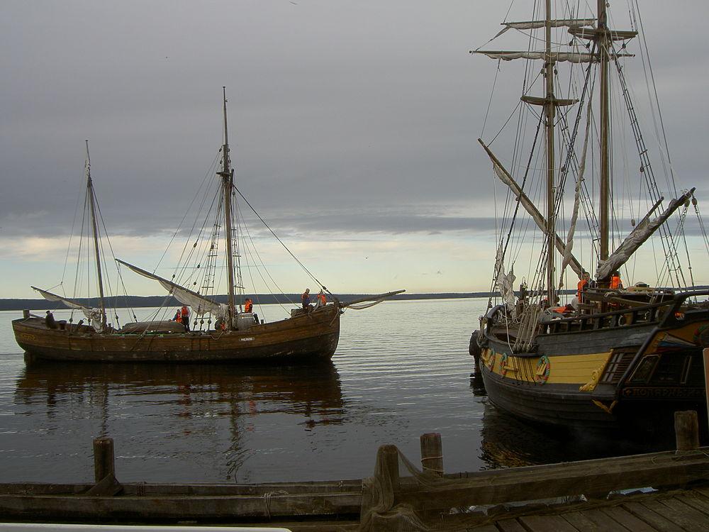 Морской фестиваль в Петрозаводске традиционно проходит в интерьерах петровской эпохи
