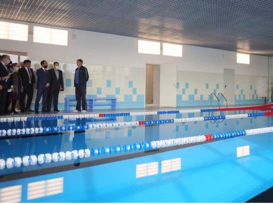 В городе Алдан Якутии завершилась реконструкция спорткомплекса с бассейном