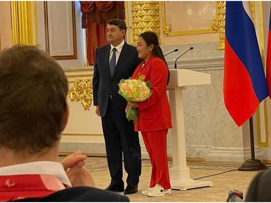 Якутянка Степанида Артахинова награждена медалью ордена «За заслуги перед Отечеством»