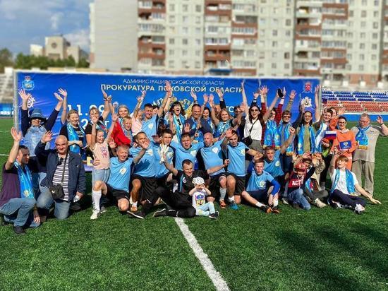 Команда прокуратуры Псковской области победила на турнире по мини-футболу