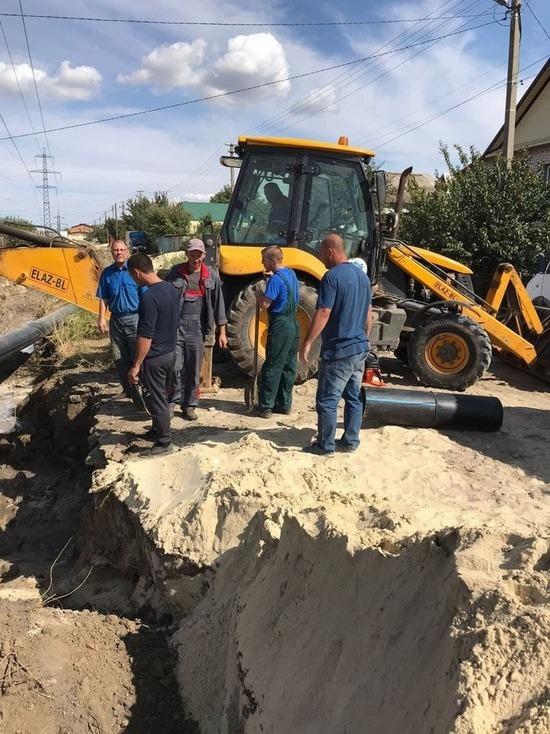 Из-за порыва трубы 5 тысяч жителей под Волгоградом остались без воды