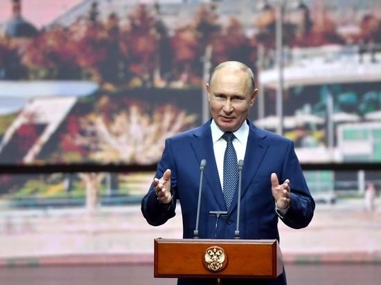 Путин осыпал вахтанговцев званиями и наградами