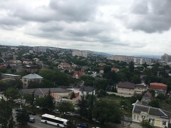 В Симферополе открыли отремонтированный участок улицы Киевской