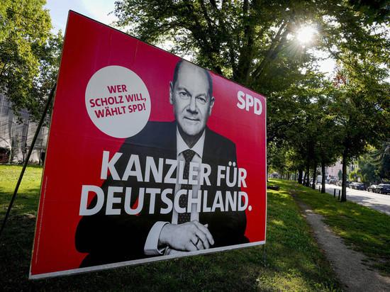 Шансы Олафа Шольца на выборах в Германии сменить Меркель выросли