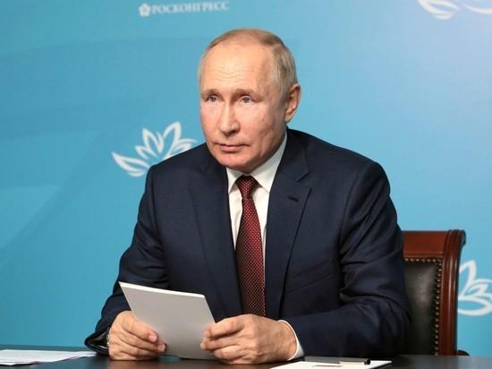 Владимир Путин посетил полигон Мулино в Нижегородской области