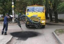 В Рязани на прошлой неделе провели ямочный ремонт на 16 улицах