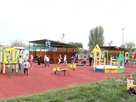 В Астрахани открыли детский сад в отдаленном микрорайоне