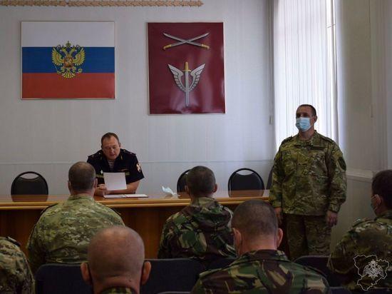 Новым командиром волгоградского ОМОНа Росгвардии стал Дмитрий Девятов