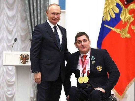 Владимир Путин высоко оценил две победы фехтовальщика из Омска на Паралимпиаде
