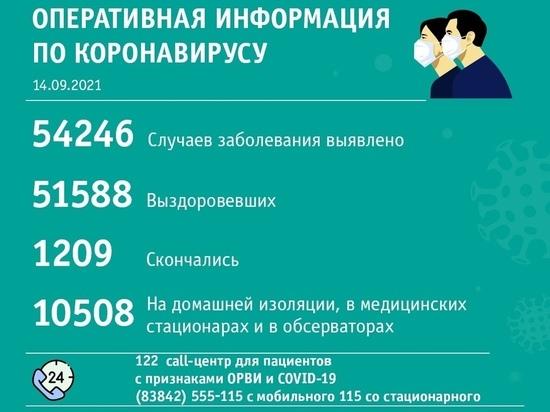 Новые случаи COVID-19 выявили в 24 кузбасских территориях