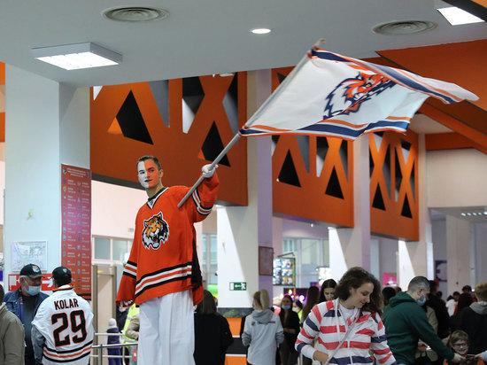 Пока «тиграм» удалось набрать всего одно очко в чемпионате КХЛ