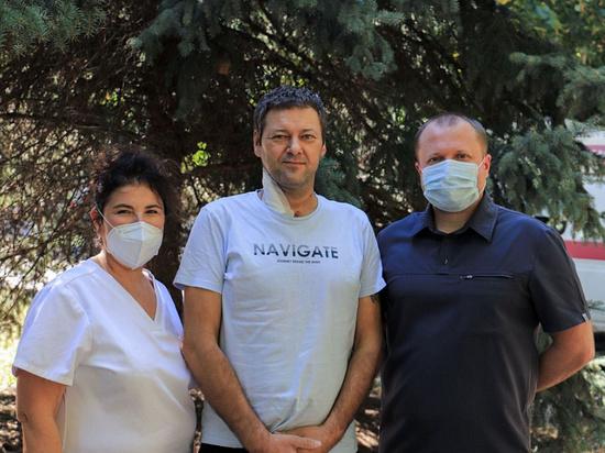 В Краснодарском крае врачи спасли пациента со 100% поражением лёгких из-за ковида