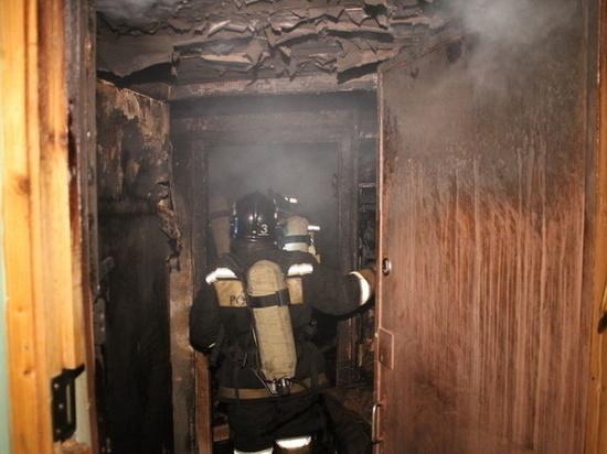 Ночью в Иванове сгорела квартира