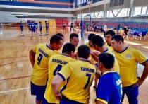 Сборная МЧС Калмыкии по волейболу