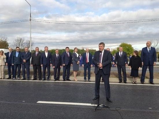 В Брянске открыли дорогу Брянск-1 — Брянск-2