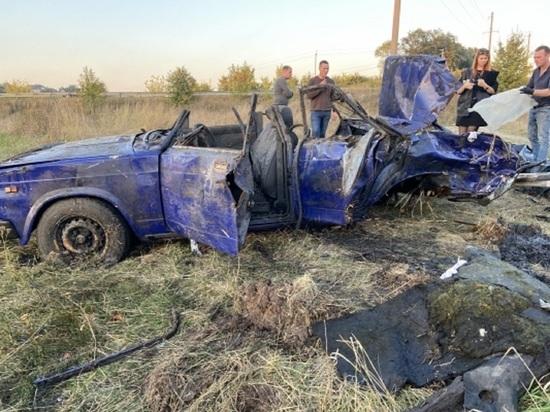 Под Белгородом из реки достали автомобиль с человеческими останками