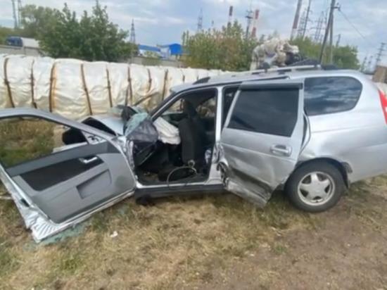 В страшной аварии пострадали четверо жителей Башкирии