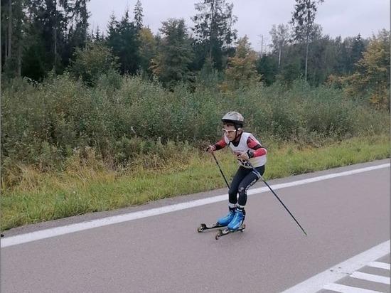 Серпуховский спортсмен победил на этапе лыжероллерного фестиваля