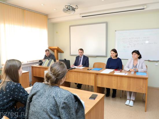 Олег Ягов встретился с победителями конкурса «Пензенская область – регион возможностей»