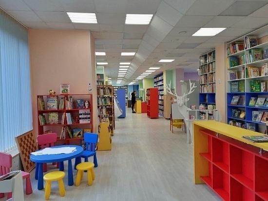 Оленегорскую библиотеку обновили в стиле «Морозко» за 10 миллионов рублей