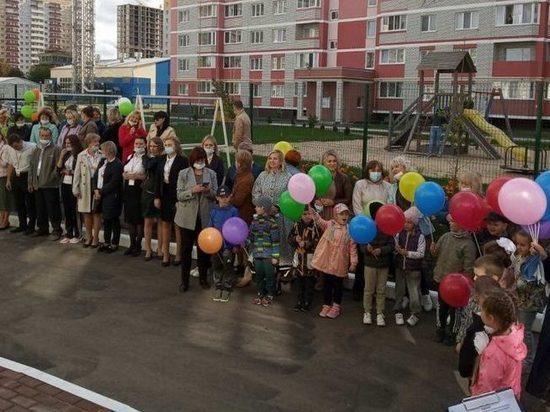 На улице Строкина в Брянске открылся новый десткий сад