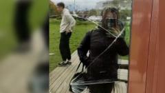 Появилось видео из общежития для мигрантов в Бужаниново