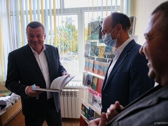 Александр Никитин посетил Тамбовский район