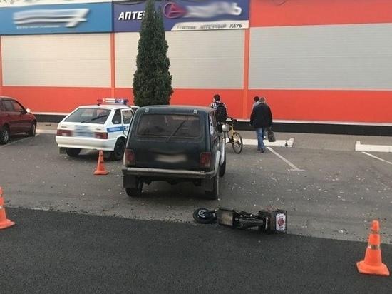 ДТП в Мичуринске: пострадал водитель электросамоката