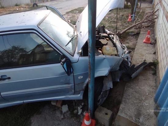 Нетрезвый волгоградец угнал автомобиль и устроил на нем ДТП