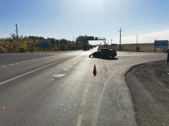 В Кувандыкском городском округе произошла серьезная авария