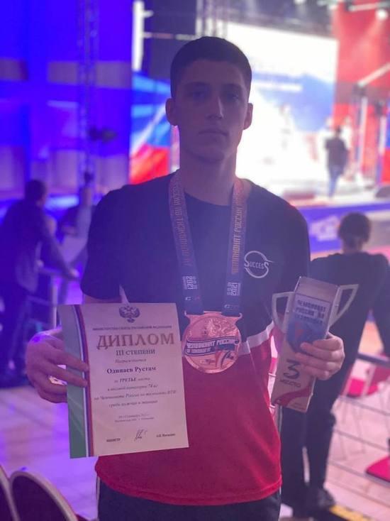«Бронзу» на всероссийских соревнованиях взял тхэквондист из Ноябрьска