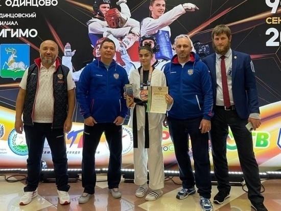Тхэквондисты КЧР завоевали три медали на Чемпионате России