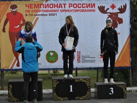 Спортсменка из Ленобласти стала призером чемпионата России по ориентированию