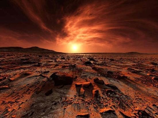 Марсианский бетон создадут из пыли, крови и мочи астронавтов
