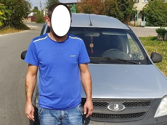 В Ряжске полицейские поймали нетрезвого водителя Largus