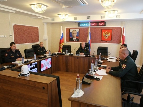 Росгвардейцы Северного Кавказа обсудили совершенствование служебной деятельности