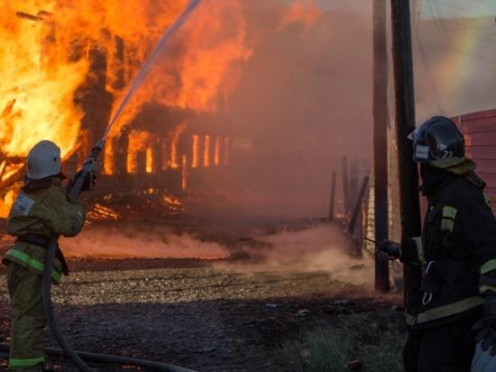 Треть пожаров в Туве происходят из-за неисправности бытовых приборов