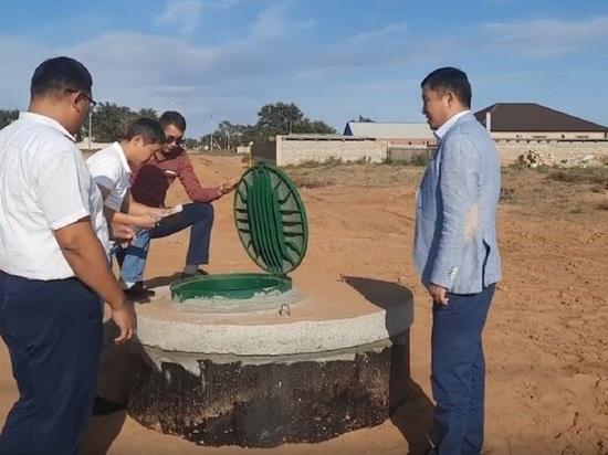 В Калмыкии к сельским новостройкам пришла вода
