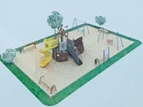 В Сеймском округе Курска установят подаренные городу две детские площадки