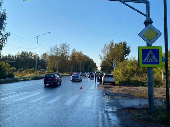 В ДТП в Томской области под колесами Мазды погиб пешеход