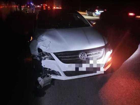 В Курском районе автоледи насмерть сбила пешехода
