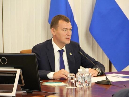 Глава региона продолжает вручную решать проблемы жителей Хабаровского края