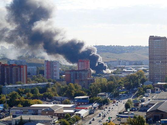 Пожар на территории автосервиса, версия возгорания и дата начала отопительного сезона – самые главные новости Красноярска к 15 сентября