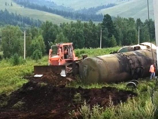 Уголовное дело возбудили после разлива 90 тонн топлива на ЗабЖД