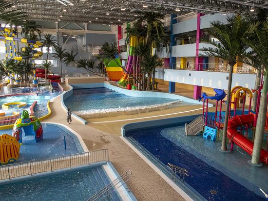 Сахалинский аквапарк станет лучшим на Дальнем Востоке