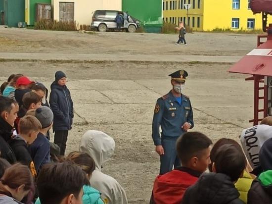 Беринговские ребята повторили правила безопасности