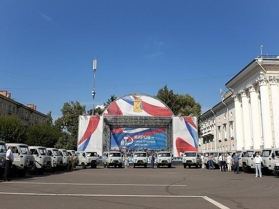 В Кировской области на 105 автомобилей пополнился автопарк больниц