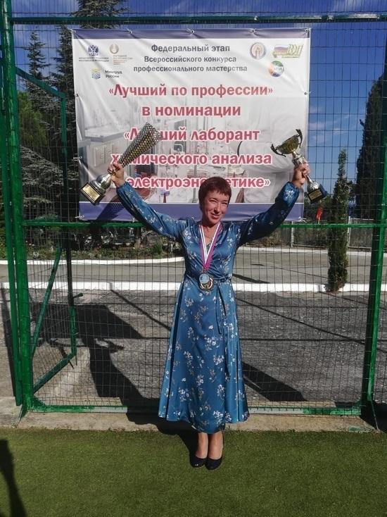 Сотрудник «Тулэнерго» победила во Всероссийском конкурсе профмастерства