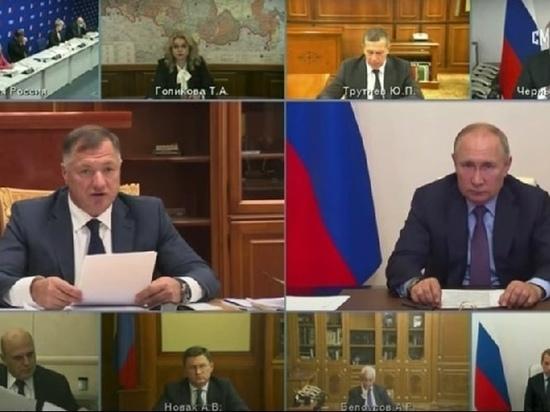 Хуснуллин доложил Путину о готовности заявки ЯНАО о финансировании строительства Северного широтного хода